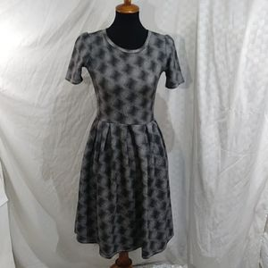 Lularoe trippy Amelia dress